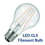 GLS Style LED Filament Bulb E27 (ES)