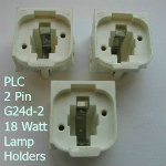 PLC G24d-2 18W 2-Pin Lampholders