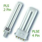 PLS and PLSE Compact CFL Light Bulbs