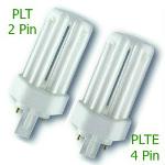 PLT and PLTE Compact CFL Light Bulbs