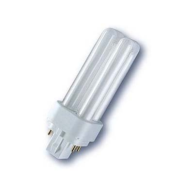 GE Biax D/E 4 pin energy saving light bulbs with push fit base