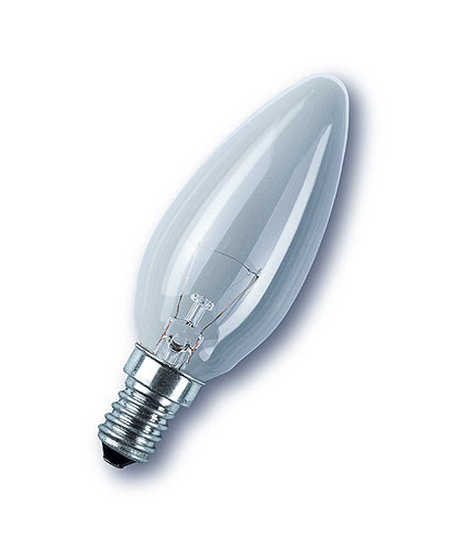 35mm Candle Light Bulbs Plain