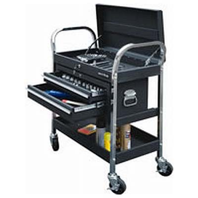 Push Cart with Socket Set Storage
