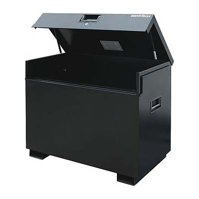 Sentribox Tool Box in black