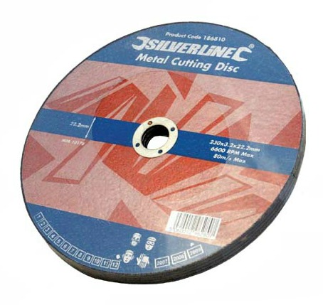 Silverline 230mm Metal Cutting Disc.jpg
