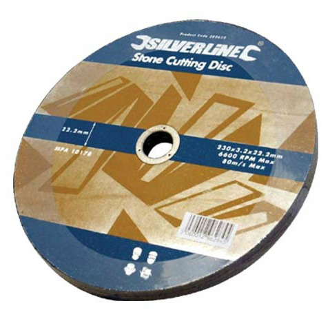 Silverline 230mm Stone Cutting Disc.jpg