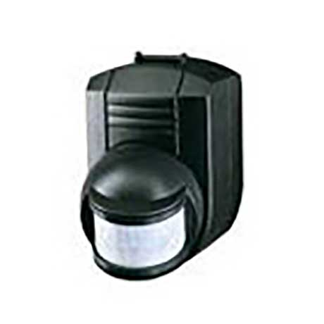 Spectra 1000W passive infrared movement sensor with 200 degree detection area finished in black