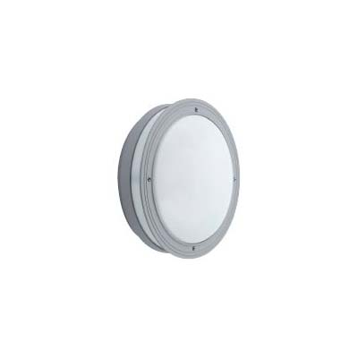 round light fitting with white lid